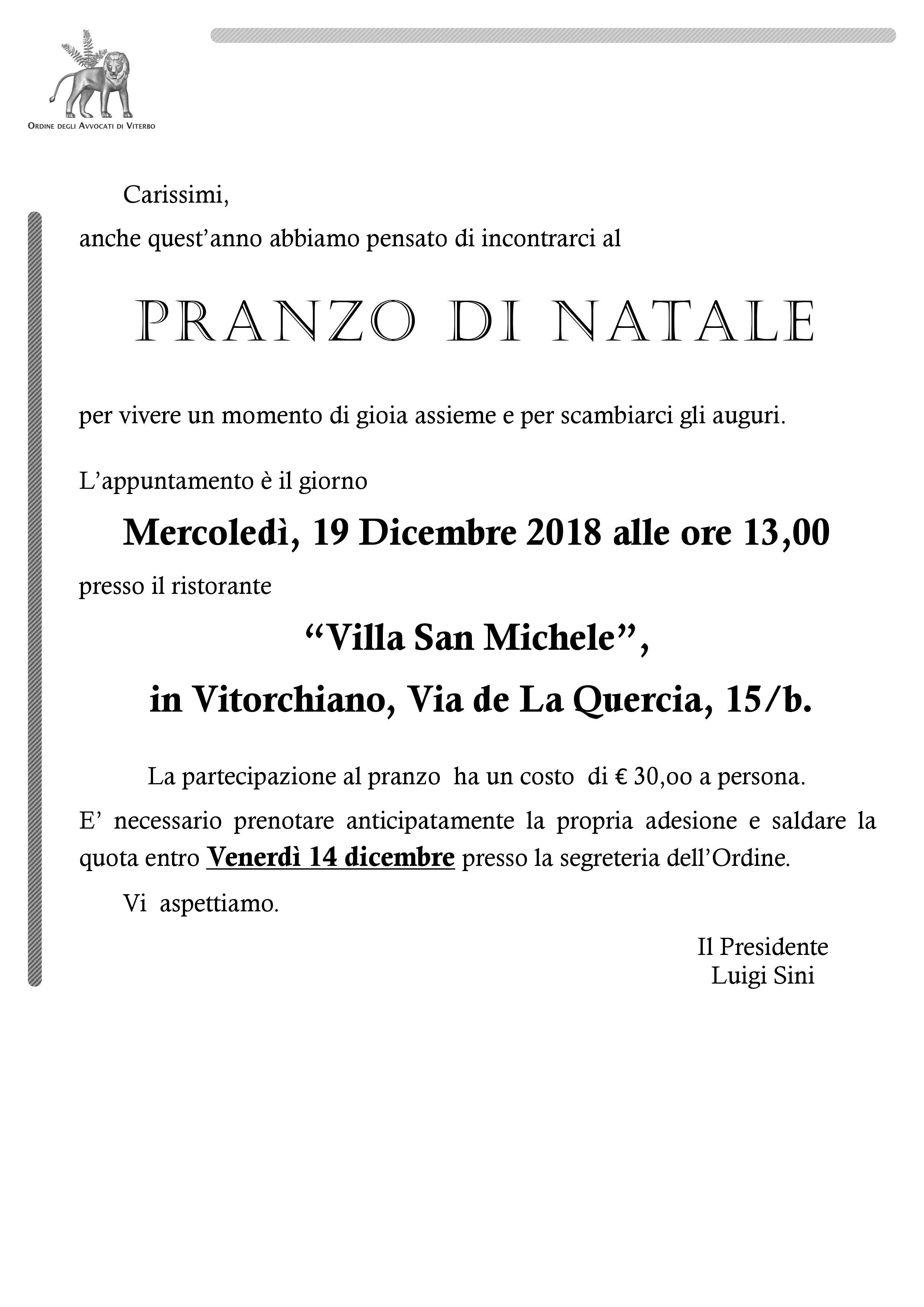 Ordine degli Avvocati di Viterbo - Notizie Modulistica Eventi ...